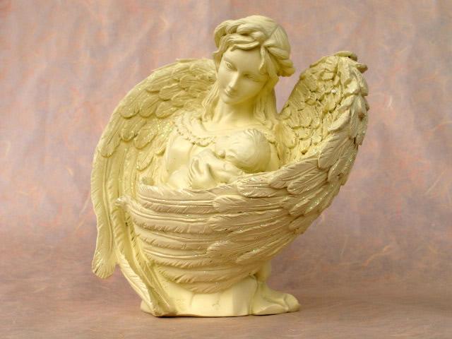 statue d 39 ange essence principe le amour naissance bapt me d coration fun raire ebay. Black Bedroom Furniture Sets. Home Design Ideas