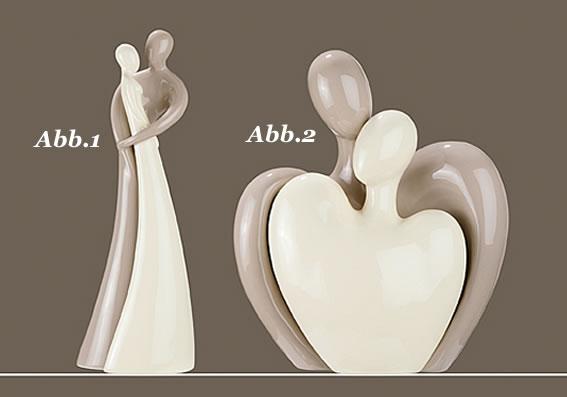 Gilde Skulptur Francis Paar *Umarmung* 2tlg. Abb.2 Figur